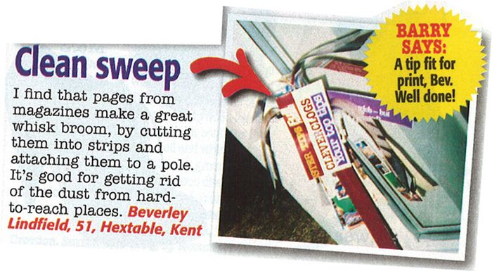 Useless Tips from Women's Magazines (25 pics)