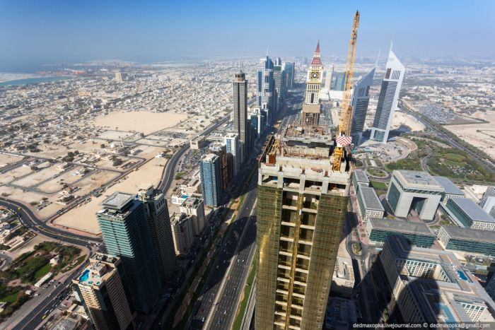 View from the Top of Dubai (60 pics)