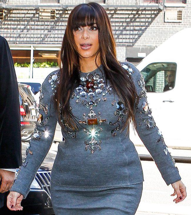 Pregnant Kim Kardashian (9 pics)