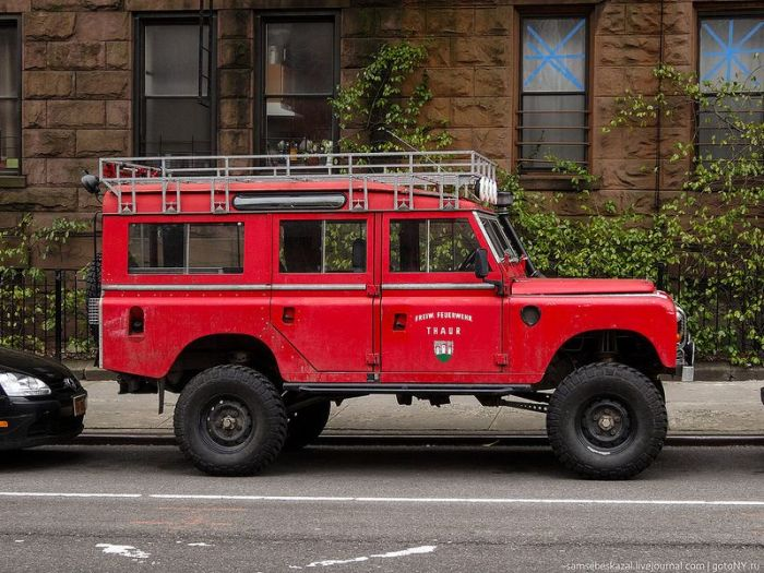 Vintage Cars in New York (63 pics)