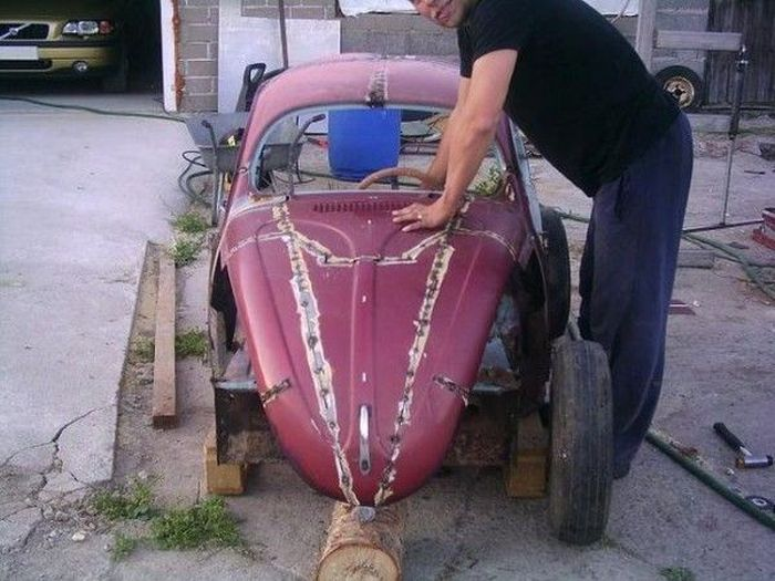 Guy Built a Car for His Son (25 pics)