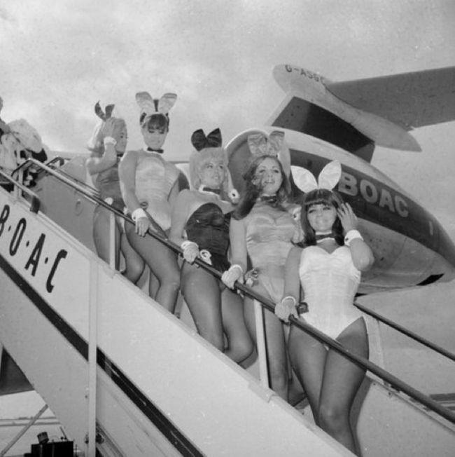 Vintage Photos Of Playboy Bunnies (50 pics)