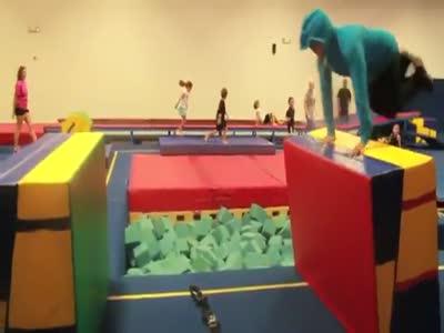Sport Jump Gone Wrong