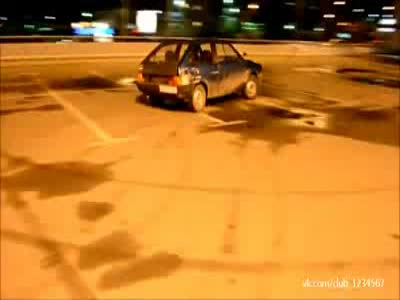 Stupid Russian Car Accident