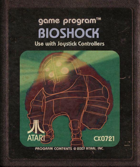 Modern Video Games Made as Atari Cartridges (46 pics)