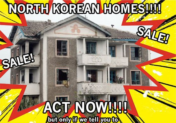 North Korean Homes (15 pics)