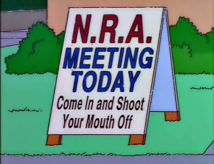 Funny Signs From The Simpsons. Part 4 (60 pics)