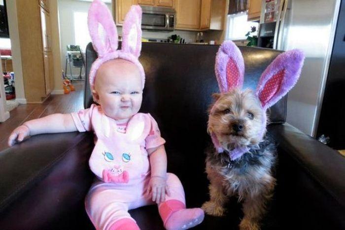 Awkward Easter Photos (53 pics)