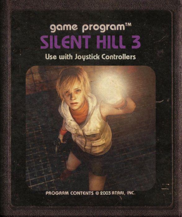 Modern Video Games Made as Atari Cartridges. Part 2 (46 pics)