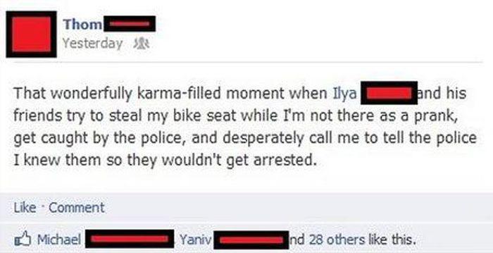 Karma Is a B*tch (49 pics)