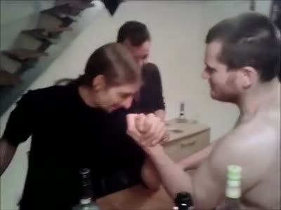 Drunk Competition Gone Wrong