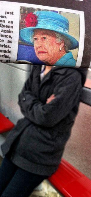 Newspaper Faces (20 pics)