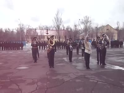 Funny Russian Brass Band Performance