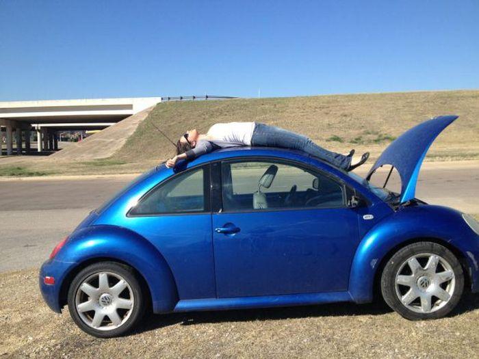 Funny Car-Themed Photos. Part 3 (50 pics)