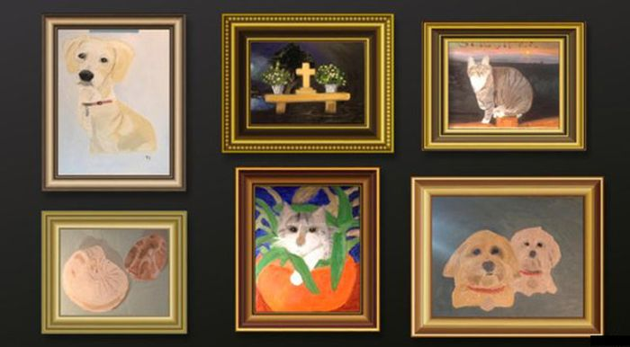 George W. Bush' Paintings (7 pics)