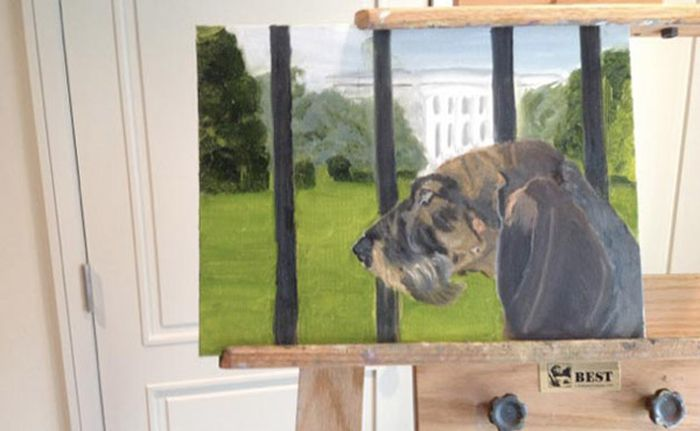 George W. Bush' Paintings (7 pics)