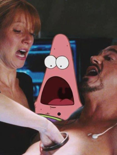 Surprised Patrick Meme (28 pics)