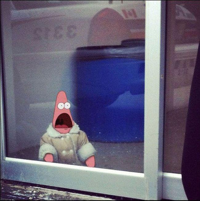 Surprised Patrick Meme (28 pics)