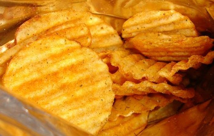 Production of Potato Chips (5 gifs)