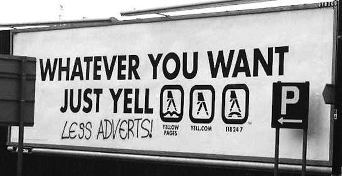 Masterfully Vandalized Billboards (30 pics)