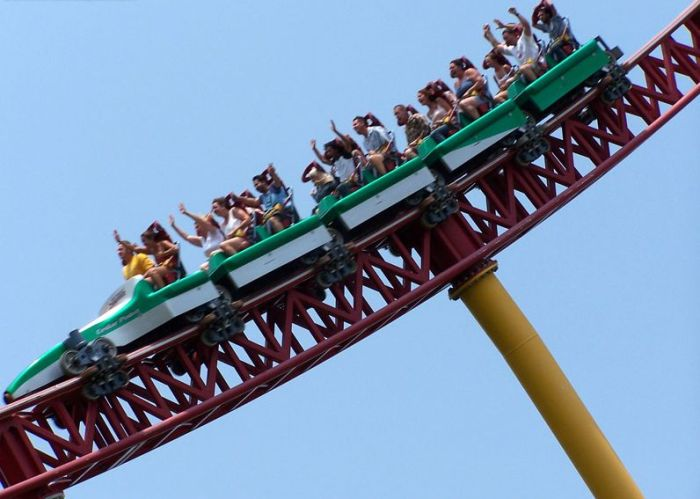 Top Thrill Dragster (27 pics + video)