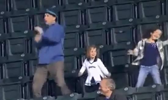 Hilarious Dance in a Stadium