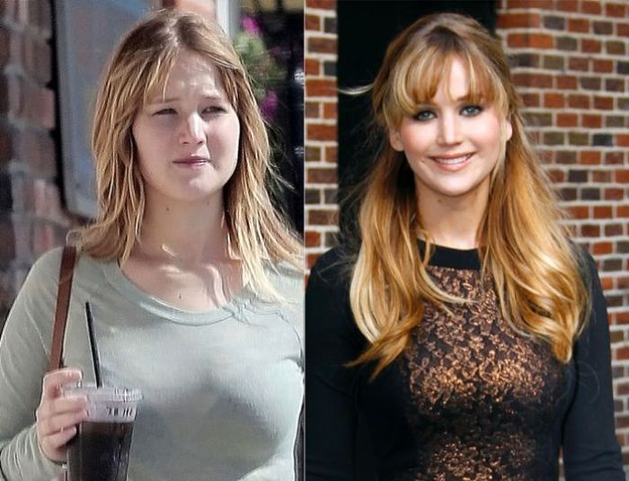 Celebrities Who Look Normal in Real Life (32 pics)