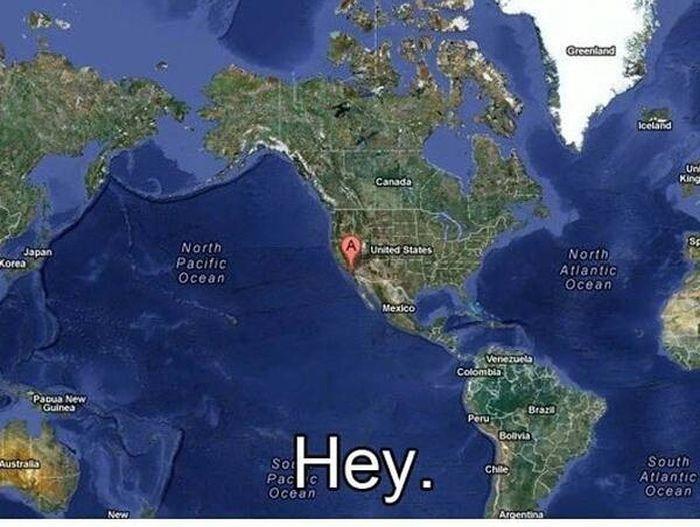Douchebag Found on Google Maps (9 pics)