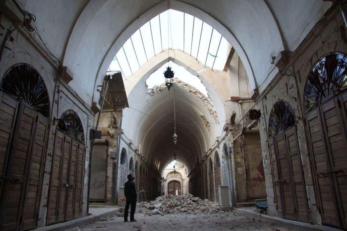Las ruinas de Siria