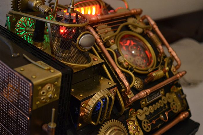 Steampunk Bioshock Infinite Pc Case Mod 8 Pics