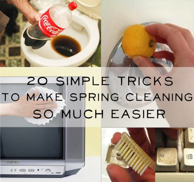 Spring Cleaning Lifehacks (20 pics)