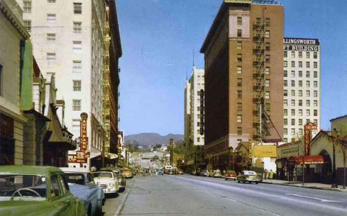 Hollywood: 1950's vs Now (16 pics)