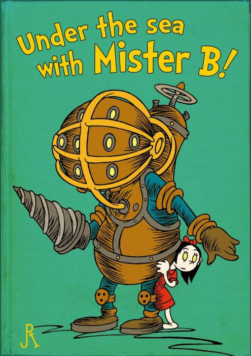 Video Game and Sci-fi Dr. Seuss Children's Book Covers (19 pics)