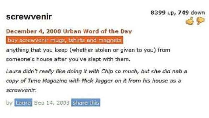 Funny Urban Dictionary Entries (23 pics)