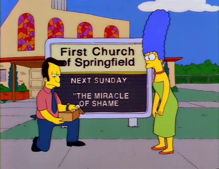 Funny Signs From The Simpsons. Part 5 (50 pics)