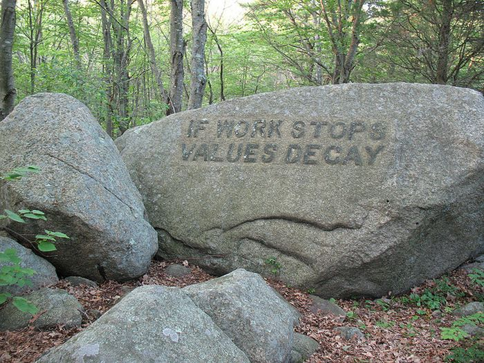 Babson Boulders (14 pics)
