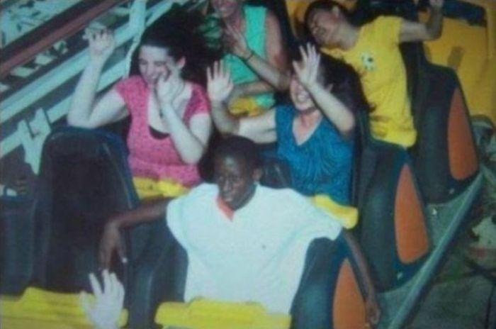 Funny Roller Coaster Photos (32 pics)