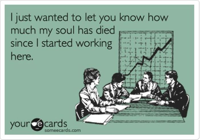Funny Cards about Work (19 pics)