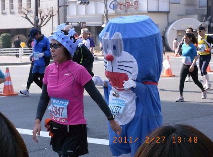 People of the Tokyo Marathon (39 pics)
