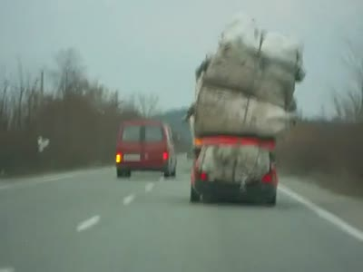 Crazy Way of Cargo Transportation
