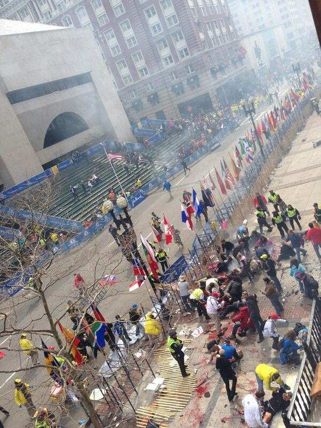 Tragedi letupan di Marathon Boston