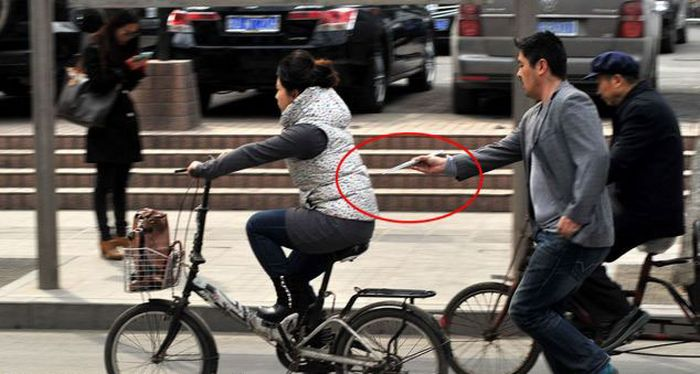 Chinese Pickpocket (4 pics)