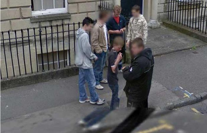 Interesting Google Street View Photos from the UK and Ireland (22 pics)
