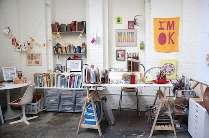 Workspaces Of The Creative People (40 pics)