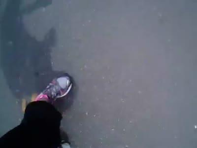 Boston Marathon Explosion From The Runner's View