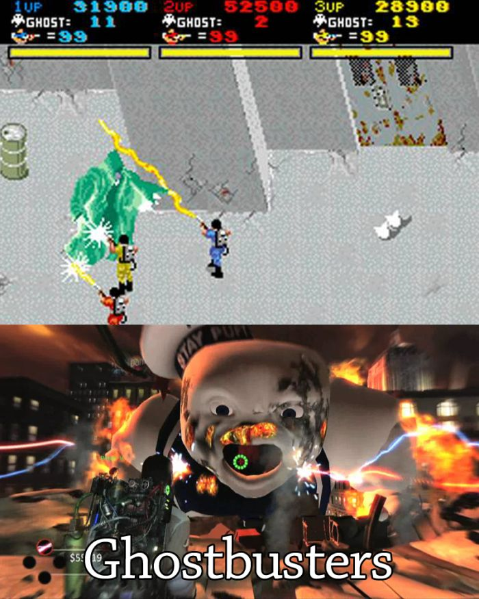 How Video Games Have Changed (20 pics)