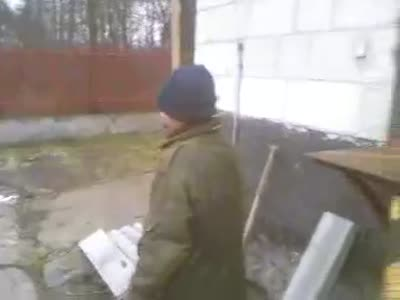 Crazy Barrel Explosion