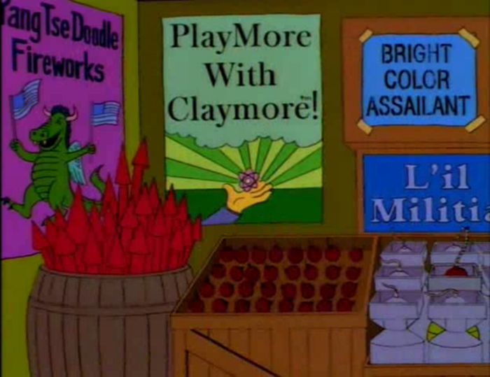 Funny Signs From The Simpsons. Part 6 (50 pics)