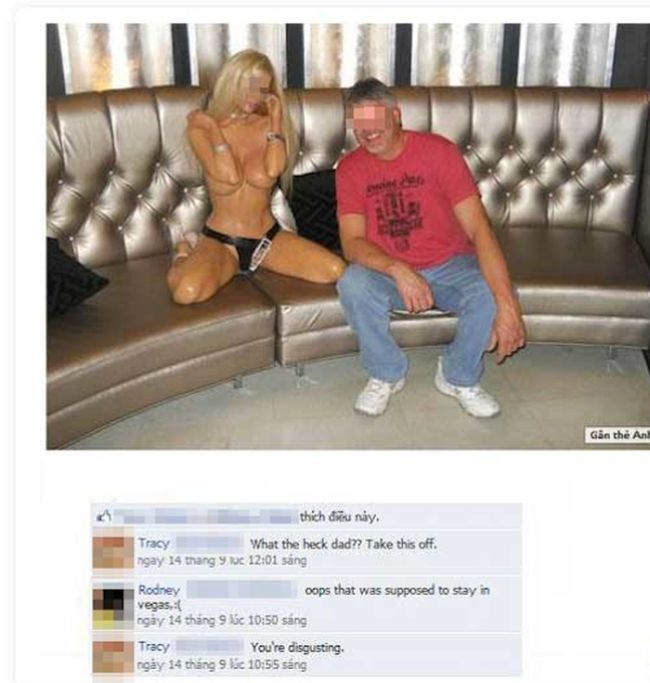 Never Add Your Relatives as Friends On Facebook (27 pics)