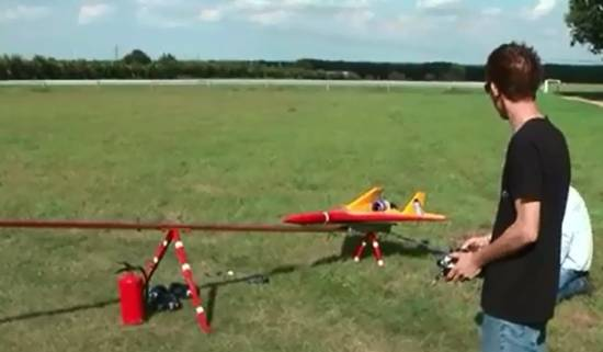 Amazing Radio Controlled Jet Plane